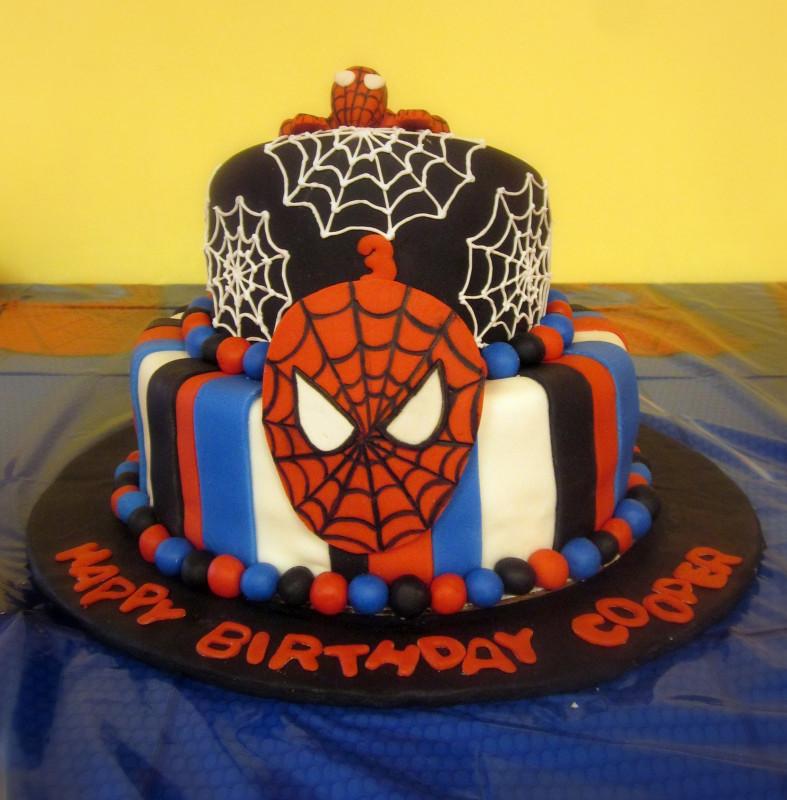 Spiderman Birthday Cake  Darlin Designs Spiderman Birthday Cake