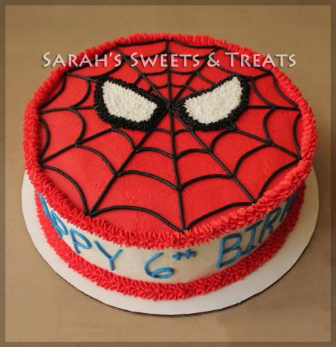 Spiderman Birthday Cake  Spiderman Cake & Cupcakes