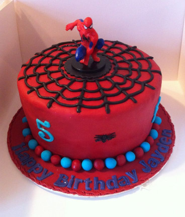Spiderman Birthday Cake  1000 ideas about Spider Man Cakes on Pinterest