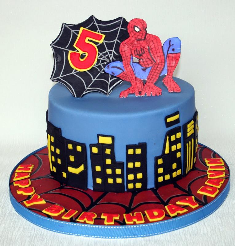 Spiderman Birthday Cake  1000 ideas about Cake Spiderman on Pinterest