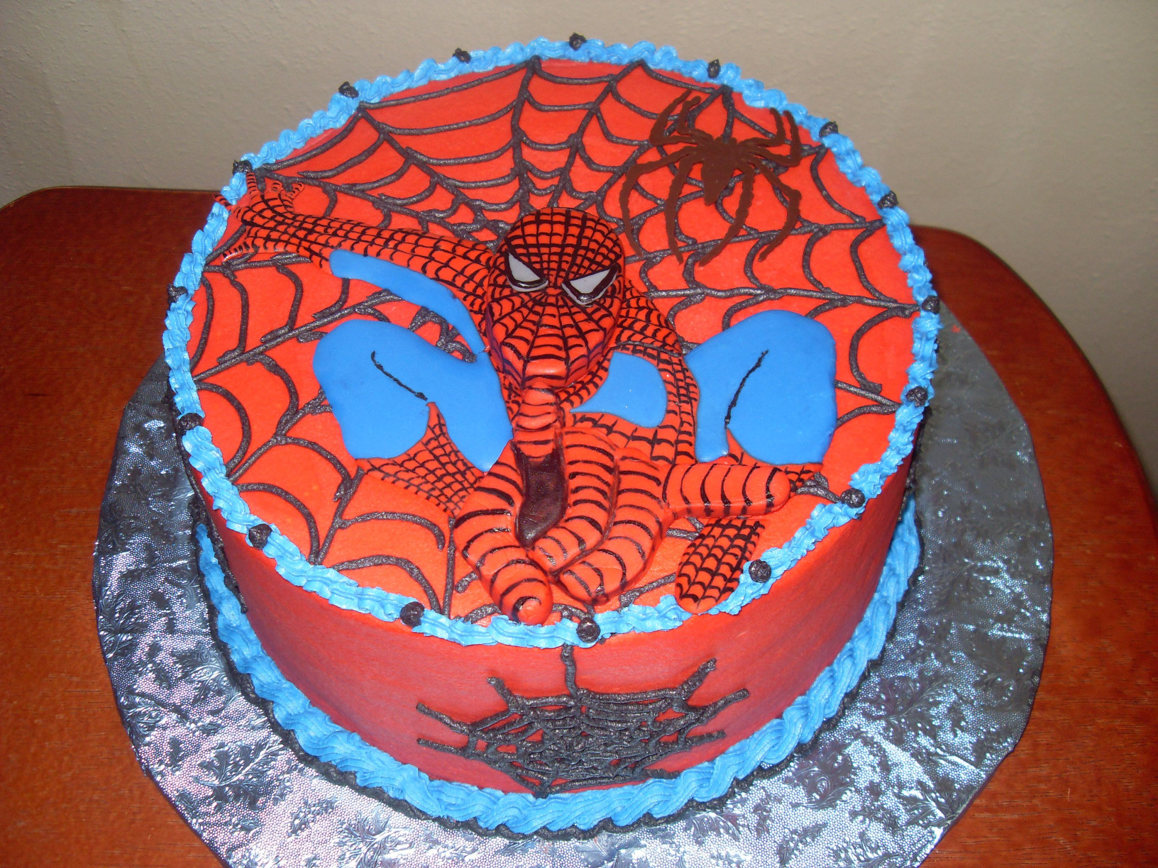 Spiderman Birthday Cake  Spiderman Cakes – Decoration Ideas