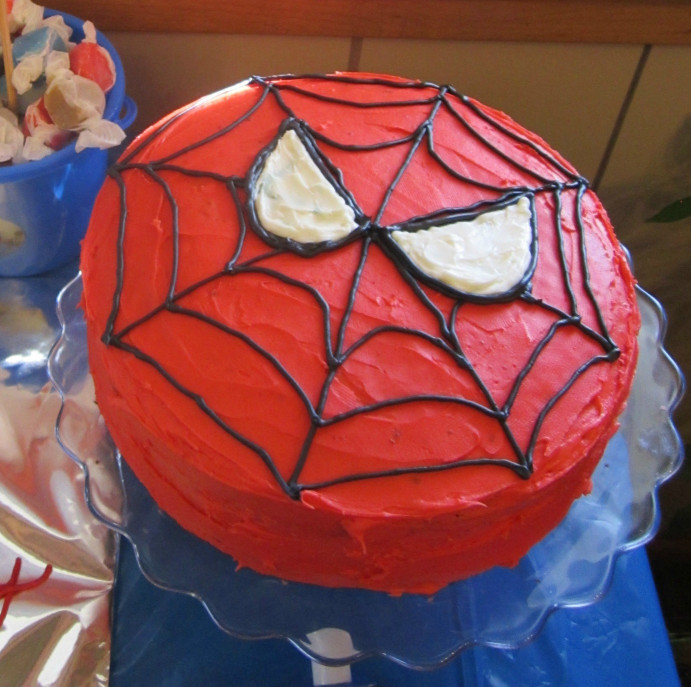 Spiderman Birthday Cake  301 Moved Permanently