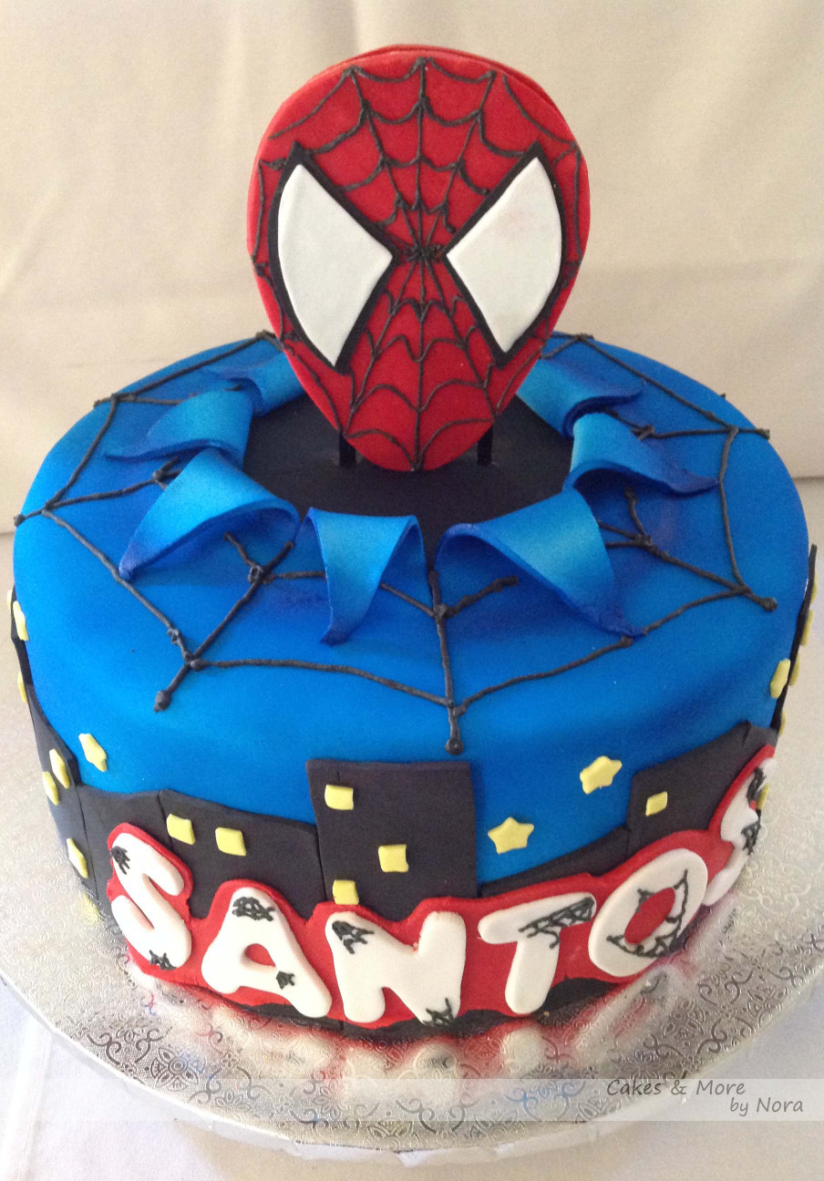 Spiderman Birthday Cake  cakes