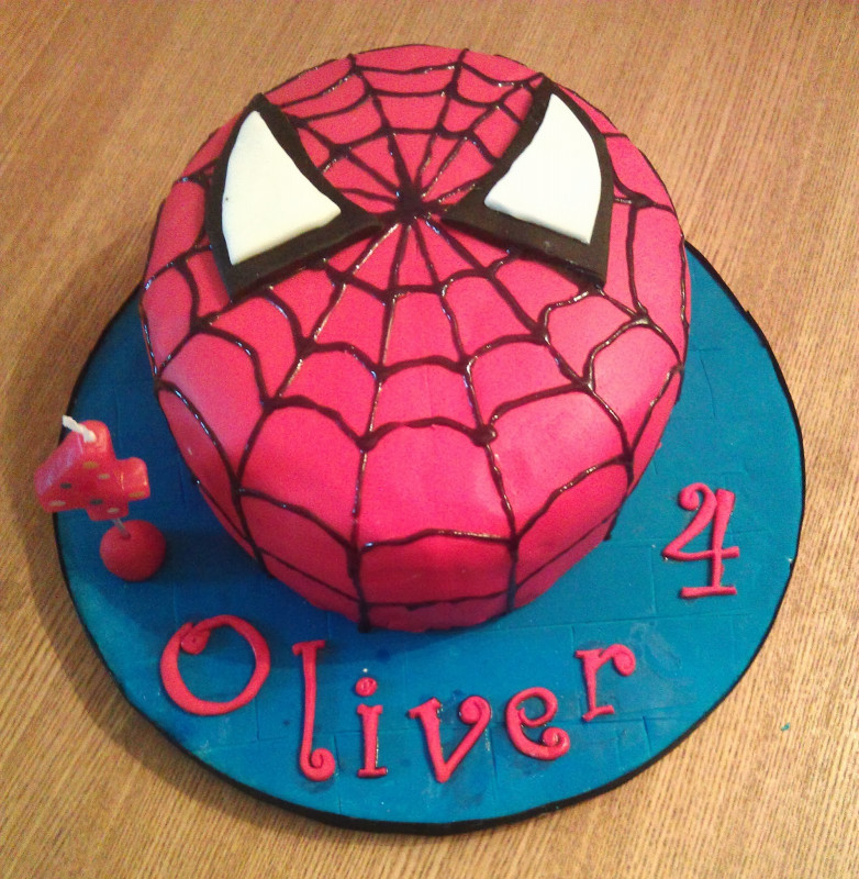 Spiderman Birthday Cake  My Darlings and Me
