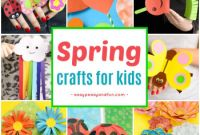 Spring Craft for Kids Beautiful Spring Crafts for Kids Art and Craft Project Ideas for