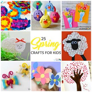 Spring Craft For Kids  Easy Spring Crafts for Kids