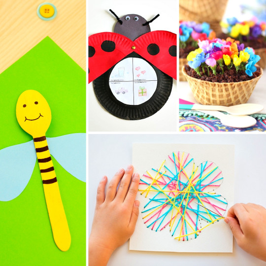 Spring Craft For Kids  20 Fun and Adorable Spring Crafts for Kids Mum In The