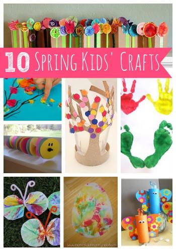 Spring Craft Ideas For Kids  10 Spring Kids' Crafts