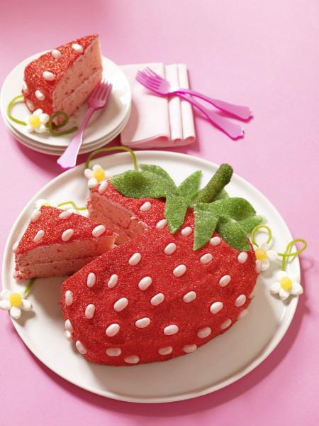 Strawberry Birthday Cake  STRAWBERRY CAKE FOREVER – Hello Cupcake