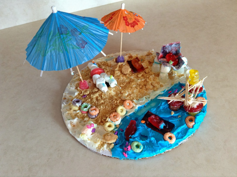 Summer Art And Craft For Kids  Holly s Arts and Crafts Corner Summer Recap Independent