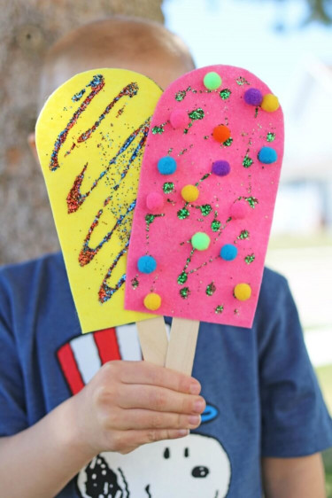Summer Art And Craft For Kids  Easy Summer Kids Crafts That Anyone Can Make Happiness