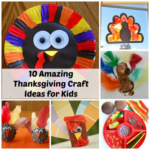 Thanksgiving Craft Ideas For Kids  Thanksgiving Craft Ideas for Kids 10 Amazing Ideas