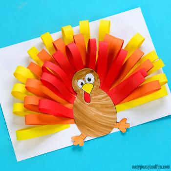 Thanksgiving Craft Ideas For Kids  Turkey Crafts for Kids Wonderful Art and Craft Ideas for