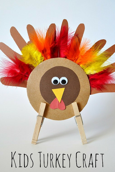 Thanksgiving Craft Ideas For Kids  Thanksgiving Turkey Craft for Kids