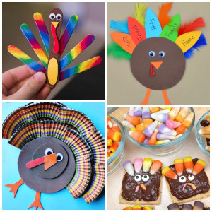 Thanksgiving Craft Ideas For Kids  Turkey Crafts for Kids