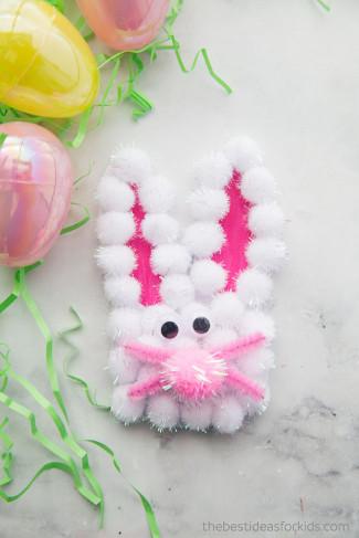 The Best Ideas For Kids  Bunny Handprint Card The Best Ideas for Kids
