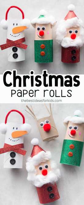 The Best Ideas For Kids  Christmas Toilet Paper Roll Crafts The Best Ideas for Kids