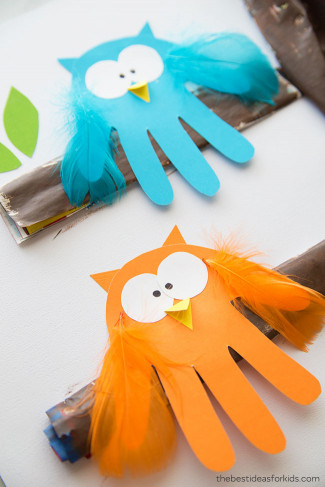 The Best Ideas For Kids  Owl Handprint The Best Ideas for Kids