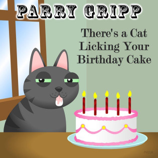 There'S A Cat Licking Your Birthday Cake  There s a Cat Licking Your Birthday Cake Single by Parry