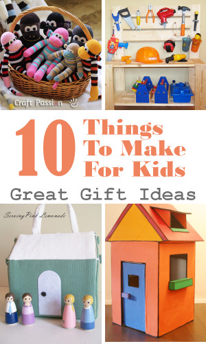 Things To Make With Kids  DIY Home Sweet Home 10 Cool Things to Make for Young Kids