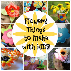 Things To Make With Kids  Flowery Things to Make with Kids Flower Hat Tutorial