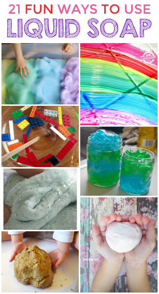 Things To Make With Kids  21 SUPER COOL THINGS TO MAKE WITH LIQUID SOAP Kids