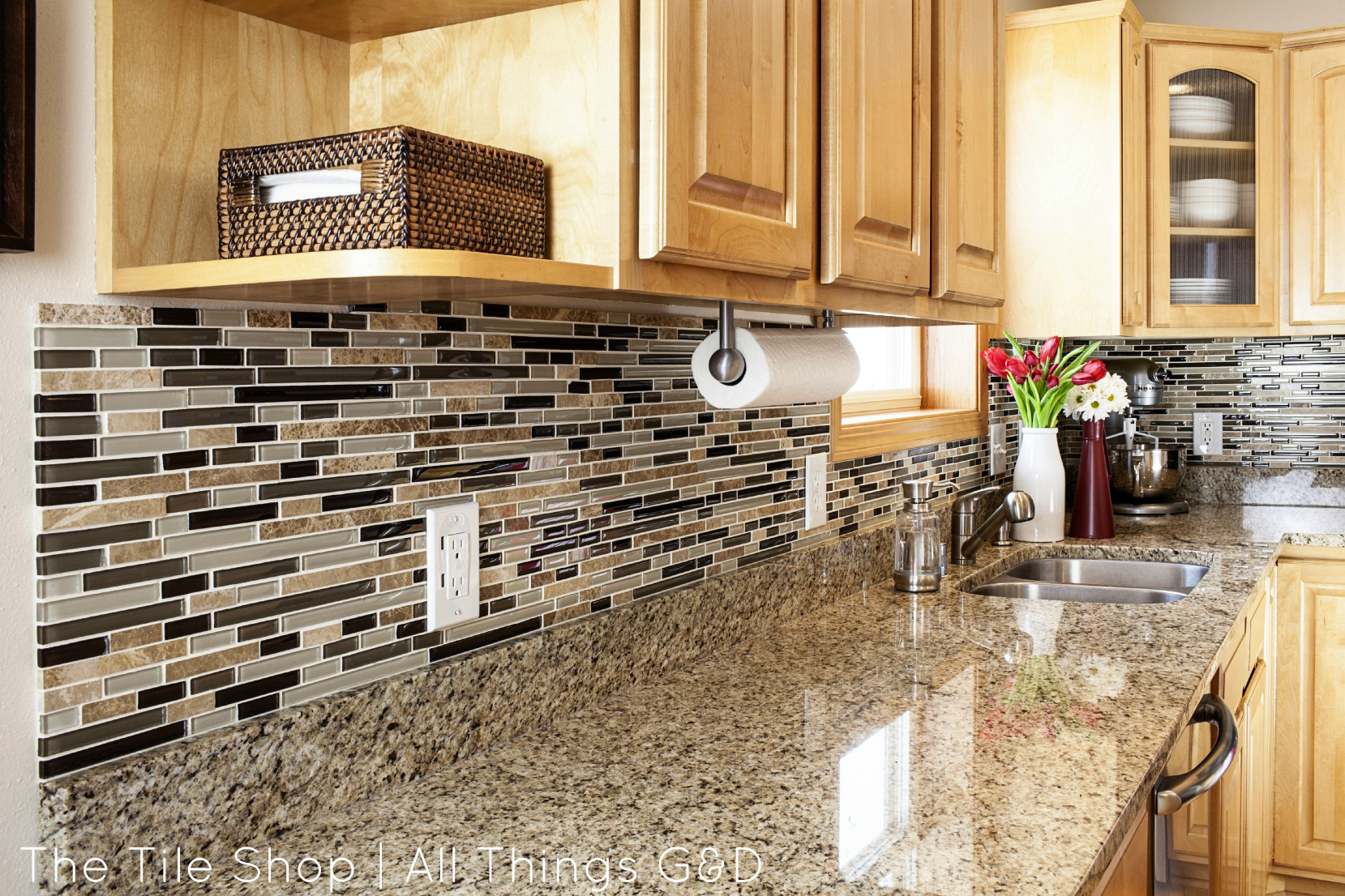 """Tile For Kitchen Backsplash  My Tile Shop Shoot The """"After"""" Pics All Things G&D"""