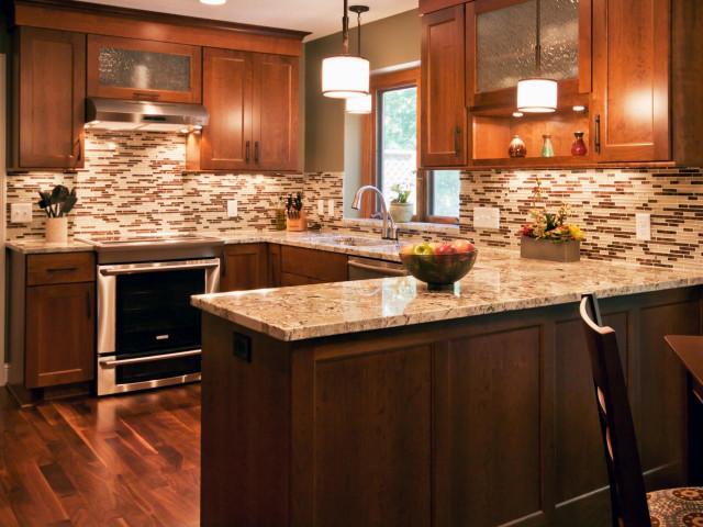 Tile Kitchen Backsplash  75 Kitchen Backsplash Ideas for 2019 Tile Glass Metal etc