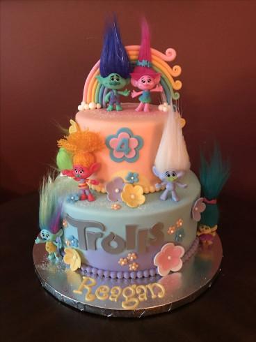 Troll Birthday Cake  The 25 best Trolls Cake Birthday ideas on Pinterest