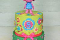 Troll Birthday Cake Luxury Trolls Cake Celebration Cakes Pinterest