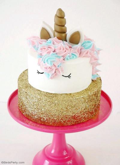 Unicorn Birthday Cake  How To Make a Unicorn Birthday Cake Party Ideas