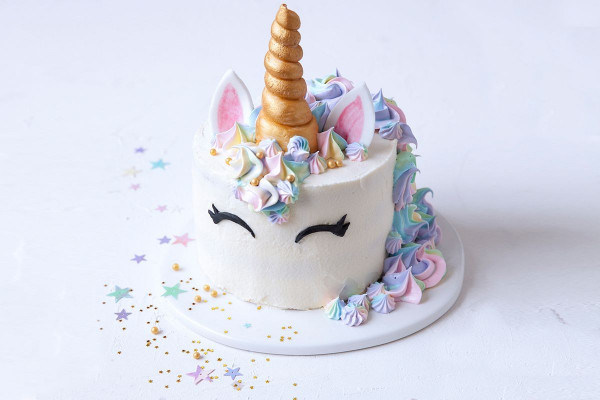 Unicorn Birthday Cake  Unicorn cake Recipes delicious
