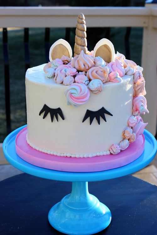 Unicorn Birthday Cake  Unicorn Cake Topper Birthday Cake Unicorn Cake DIY
