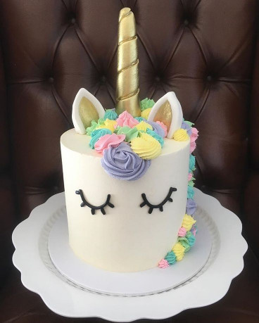 Unicorn Birthday Cake  25 best ideas about Unicorn cakes on Pinterest