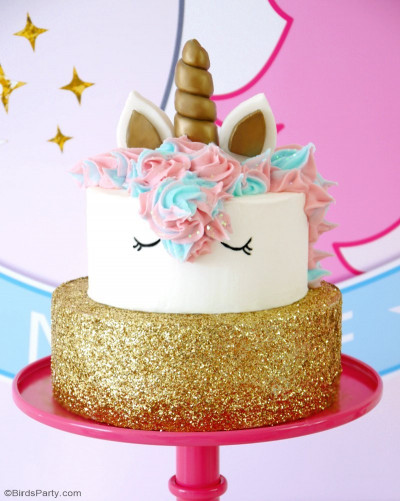 Unicorn Birthday Cake  How To Make a Unicorn Birthday Cake Party Ideas