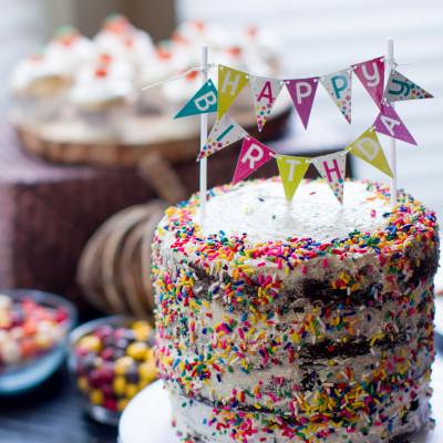 Vegan Birthday Cake  Vegan Birthday Cake Kitchen of Eatin