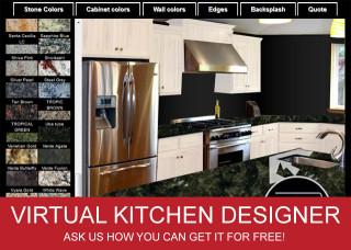 Virtual Kitchen Designer  Virtual Kitchen Designer adds custom color list
