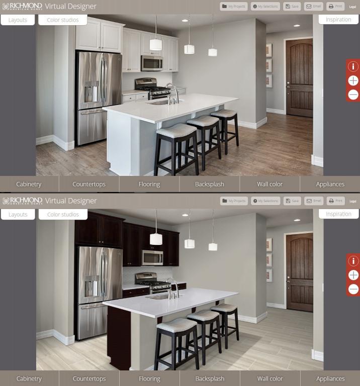 Virtual Kitchen Designer  Arizona home builder launches virtual kitchen design tool