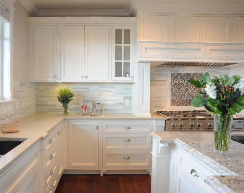 White Kitchen Backsplash  Creating the Perfect Kitchen Backsplash with Mosaic Tiles