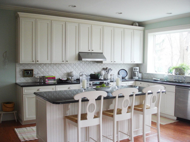 White Kitchen Backsplash New A Big Thank You to Cococozy