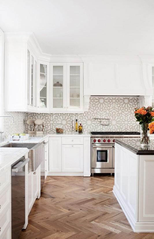 White Kitchen Backsplash  50 Best Kitchen Backsplash Ideas for 2019