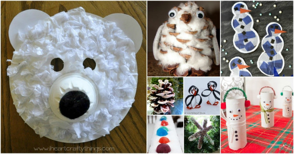 Winter Crafts For Kids  30 Fun Winter Crafts To Keep Your Kids Busy Indoors When