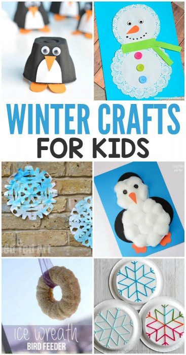 Winter Crafts For Kids  180 best Winter in the Classroom images on Pinterest