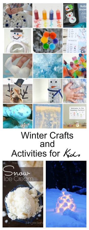 Winter Crafts For Kids  Winter Crafts and Activities for Kids The Idea Room