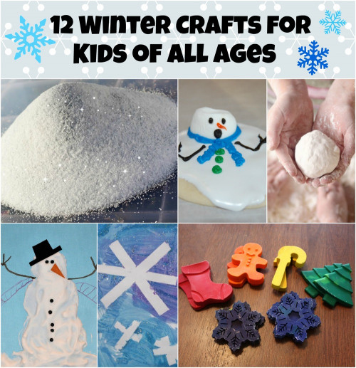 Winter Crafts For Kids  12 Winter Crafts For Kids of All Ages