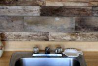 Wood Kitchen Backsplash Fresh before & after Reclaimed Wood Kitchen Backsplash – Design