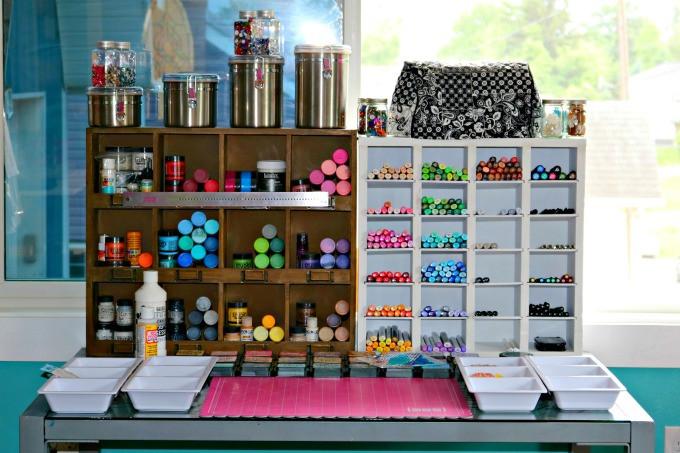 Art Studio organization Fresh Tinkering Spaces