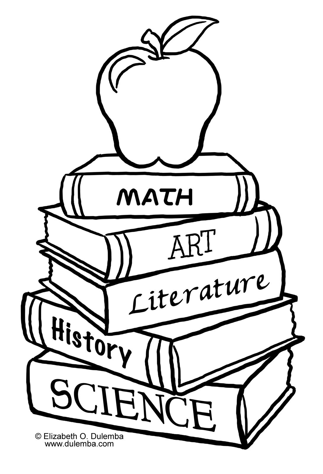 Back To School Coloring Pages  Back To School Coloring Pages 2011