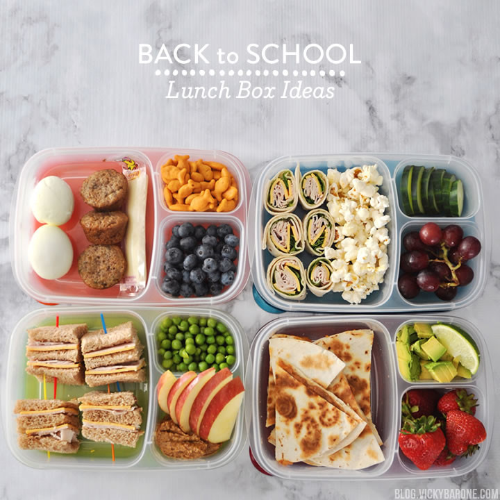Back To School Lunch Ideas  Back to School Lunch Box Ideas Vicky Barone