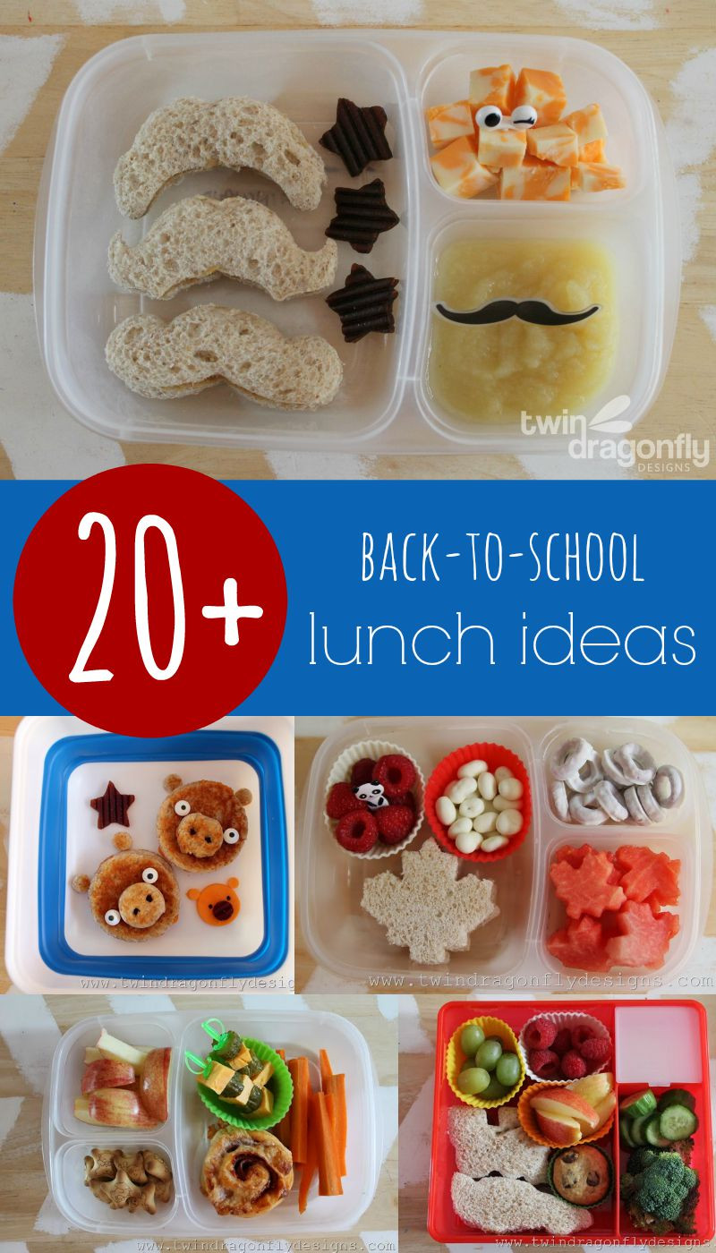 Back To School Lunch Ideas  20 Back To School Lunch Ideas Dragonfly Designs